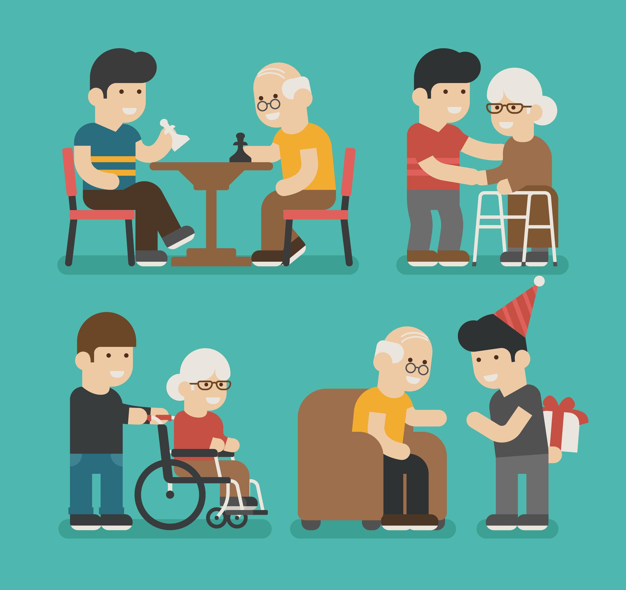 take care of older