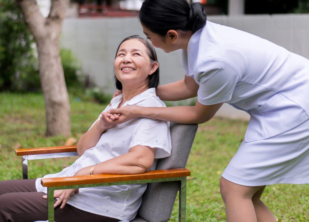 elderly-parkinson-nurse-take-care