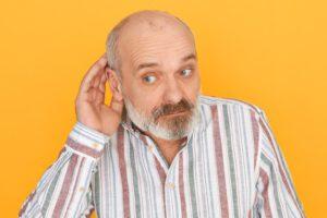 disease-ear-elderly-man